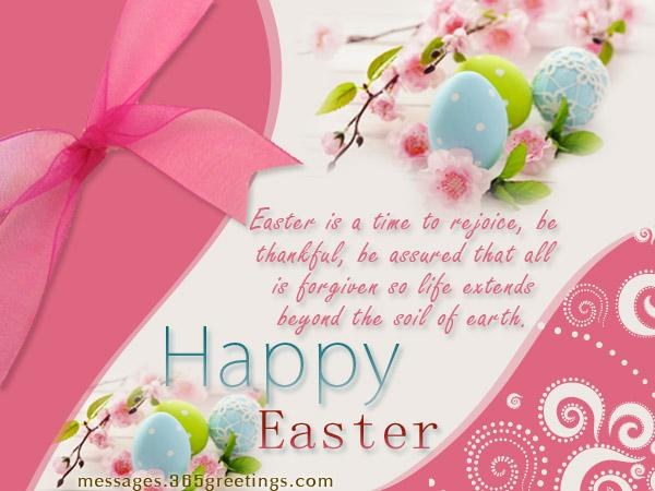 Happy Easter Wishes and Messages 365greetings – Easter Greeting Card Sayings