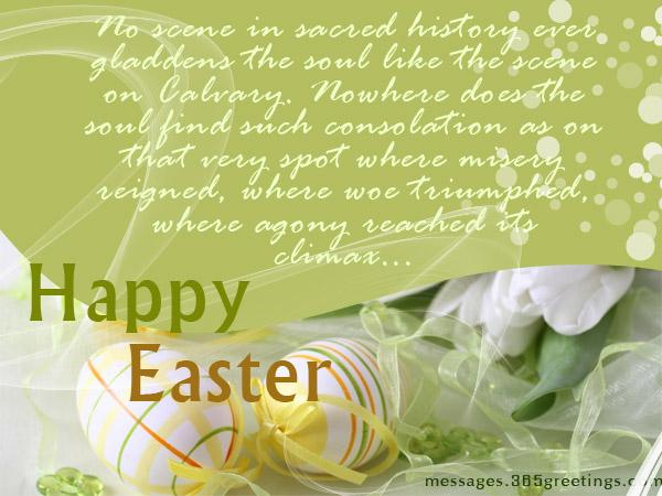 Happy easter wishes and messages 365greetings easter messages for kids m4hsunfo