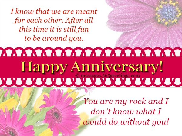 Anniversary Messages for Girlfriend - 365greetings com