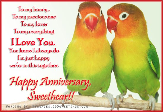 1st Wedding anniversary wishes to husband, marriage anniversary wishes ...
