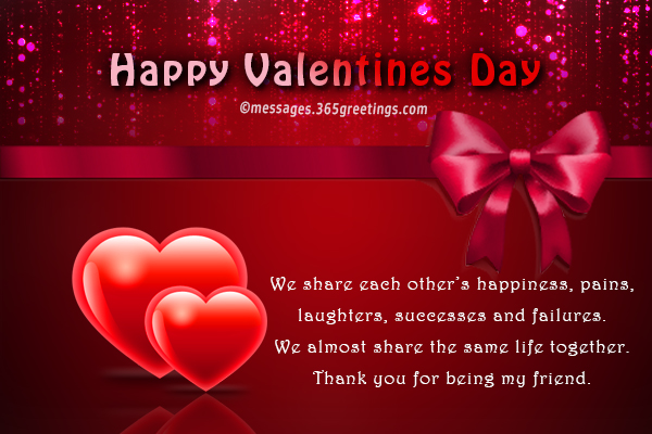 Valentines day messages for friends 365greetings valentines day card wordings for a friend m4hsunfo