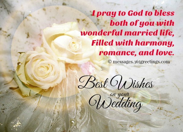 Wedding wishes and messages 365greetings best wishes congratulations wedding m4hsunfo
