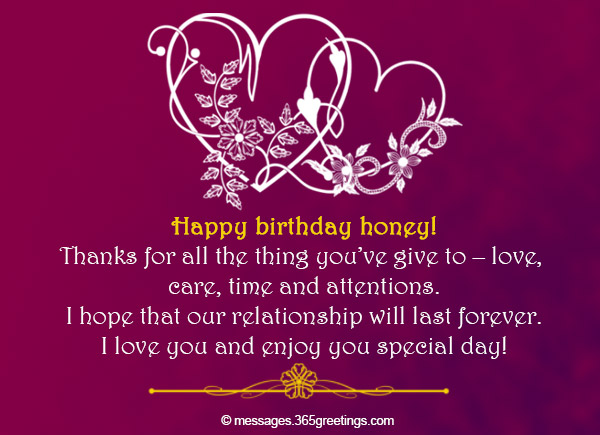 Birthday wishes for husband 365greetings greet him by these romantic and happy birthday wishes this may help you strengthen more your relationship im sure he loved it when he hear or read these m4hsunfo