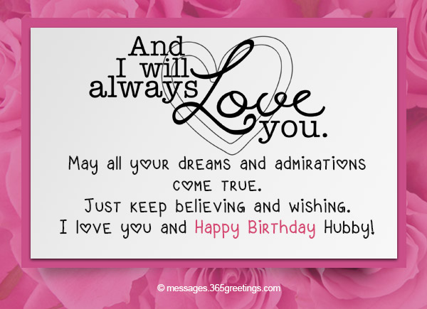 Image of: Birthday Cake Birthday Love Messages For Husband Messages Wishes And Quotes 365greetingscom Birthday Wishes For Husband 365greetingscom