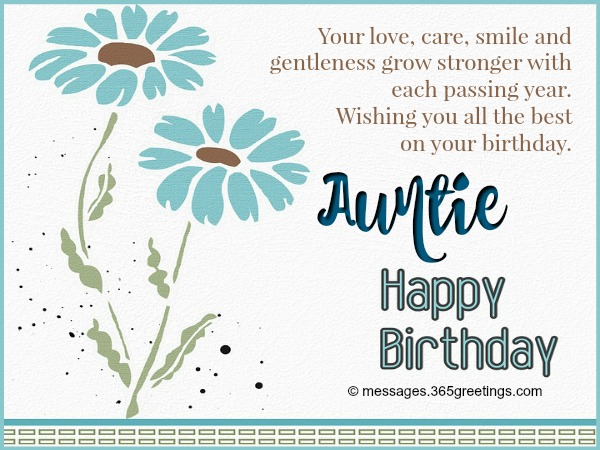 Birthday Wishes For Aunt 365greetings
