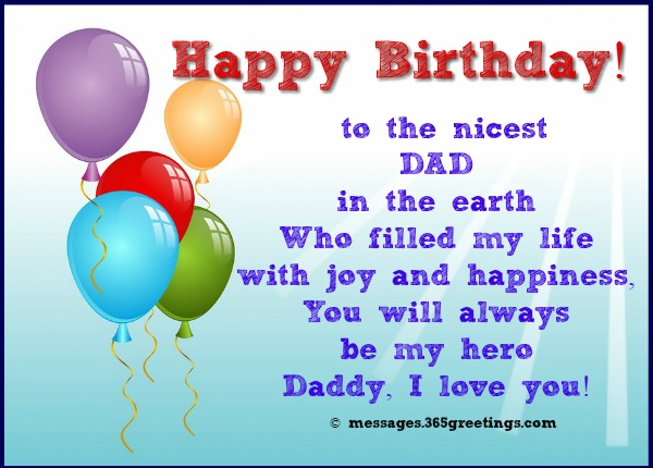 birthdaygreetingsfordad 365greetings – Birthday Greeting Dad