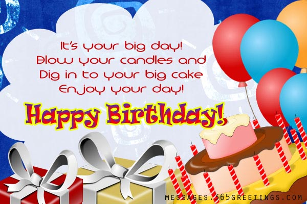 Birthday Wishes for Kids Messages Greetings and Wishes – Birthdays Greetings
