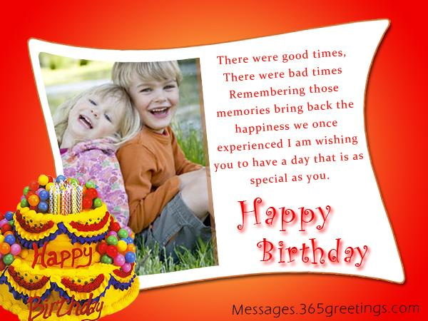Best Birthday Wishes Messages For Brother