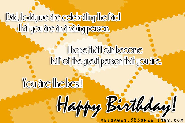 Birthday wishes for dad 365greetings best birthday messages for dad m4hsunfo