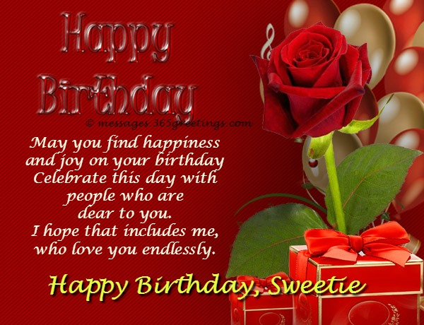 Birthday Wishes for Girlfriend 365greetings – Birthday Love Greeting Cards
