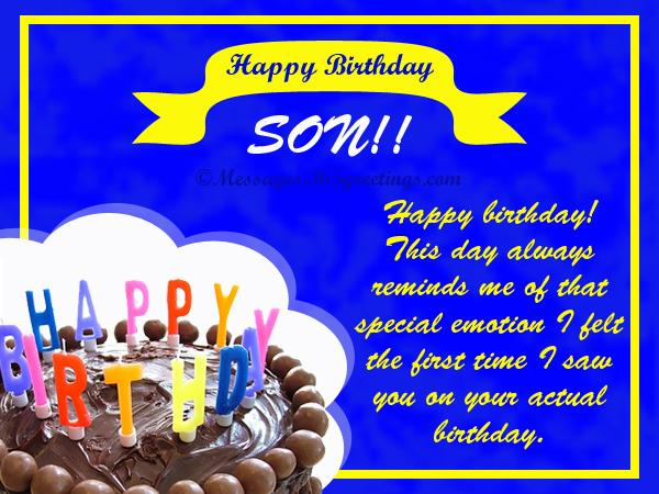 Birthday wishes for son 365greetings best birthday wishes for your son m4hsunfo