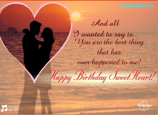 Birthday Wishes for Girlfriend Messages Greetings and Wishes – Birthday Greetings to a Lover