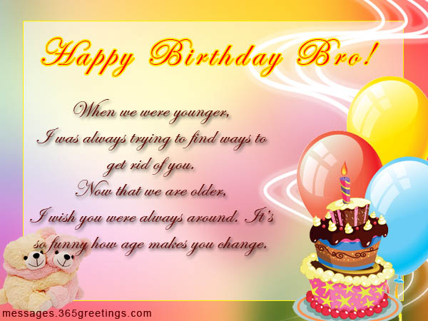 Birthday wishes for brother 365greetings birthday quotes for brother m4hsunfo