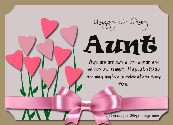 Birthday wishes for aunt 365greetings aunt you are such a fine woman and we love you so much happy birthday and may you live to celebrate so many more m4hsunfo Gallery
