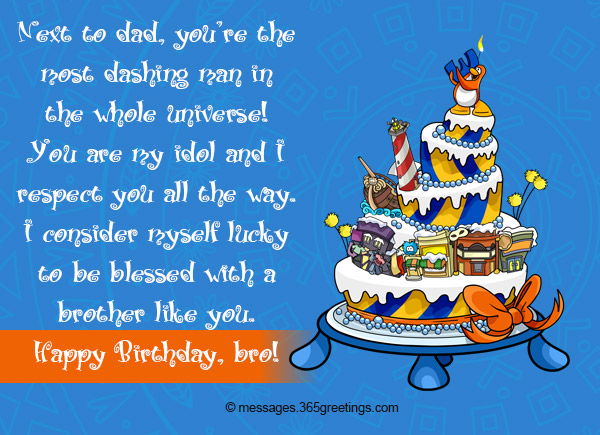 Birthday Wishes For Brother Greetings
