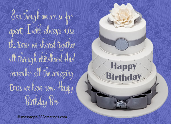Birthday Wishes for Brother - 365greetings com