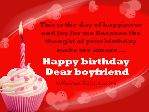 birthday messages for boyfriend