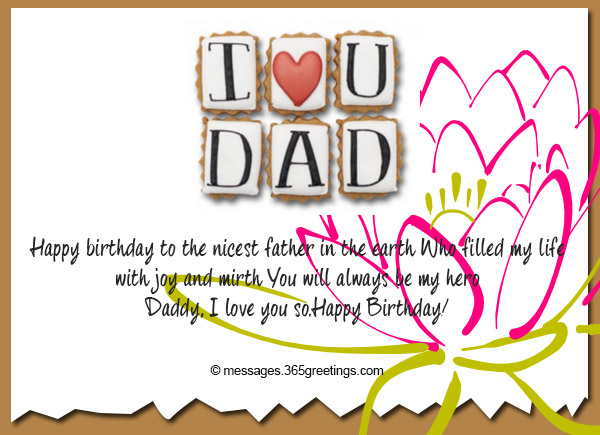 Latest Birthday Wishes For Dad