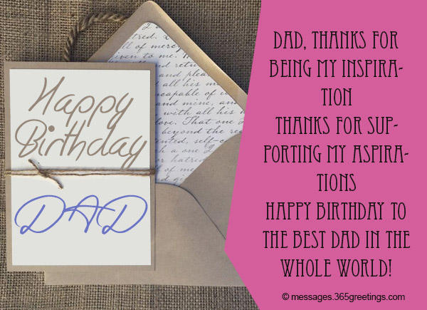 Birthday Wishes For Dad 365greetings