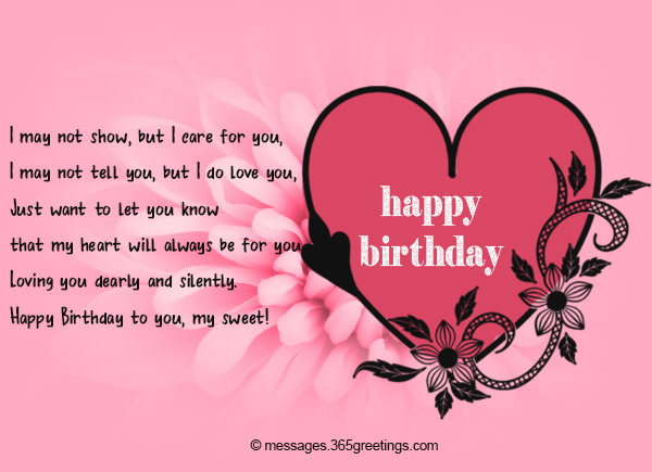 Birthday wishes for girlfriend 365greetings birthday love messages for girlfriend m4hsunfo