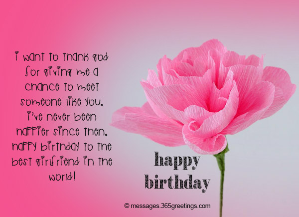 Best Wishes For Birthday Girl Friend : Birthday wishes for girlfriend greetings