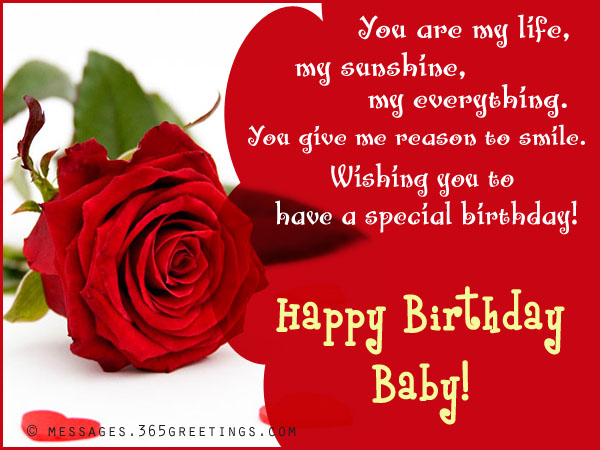 Birthday wishes for girlfriend 365greetings happy birthday messages for girlfriend m4hsunfo