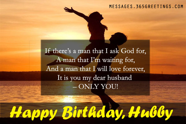 Birthday Card Messages For Husband