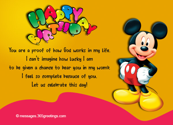 Christian Happy Birthday Wishes For A Child Birthday Wishes For