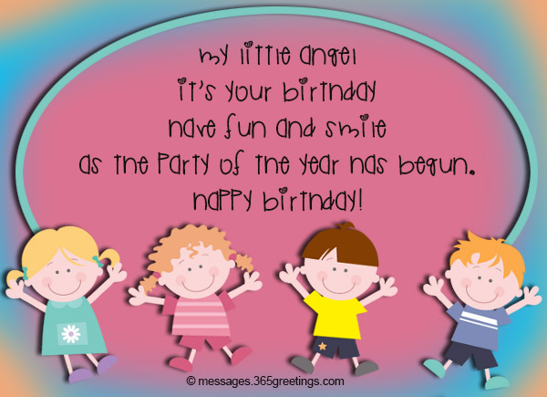 Birthday Wishes for Kids 365greetings – Baby Birthday Greeting