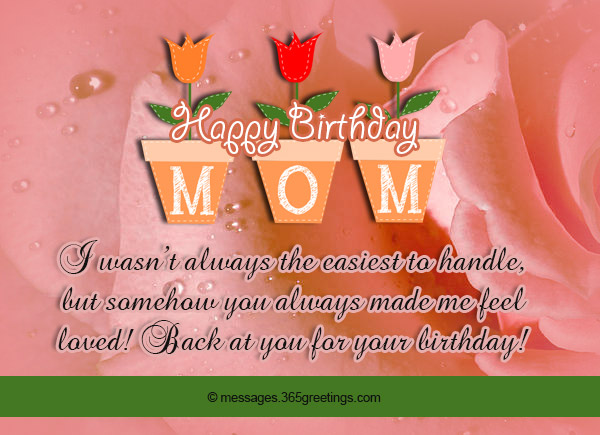 Best Birthday Messages For Your Mom