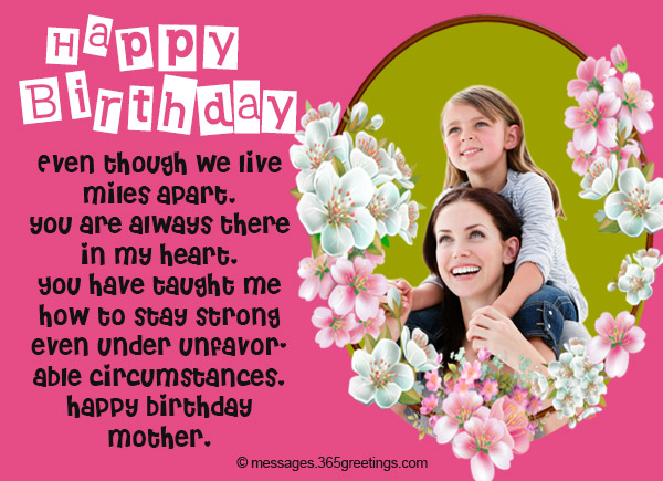 Birthday Wishes for Mother 365greetings – Birthday Greetings for Mother