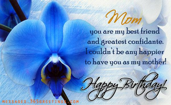 Birthday Wishes for Mom Holiday Messages, Greetings and Wishes ...