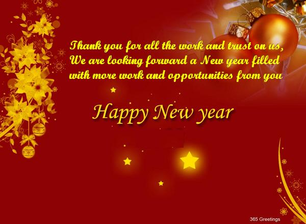 Business new year messages 365greetings business new year wishes m4hsunfo