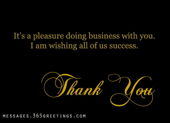 businessthankyounotes 365greetings – Business Thank You Notes