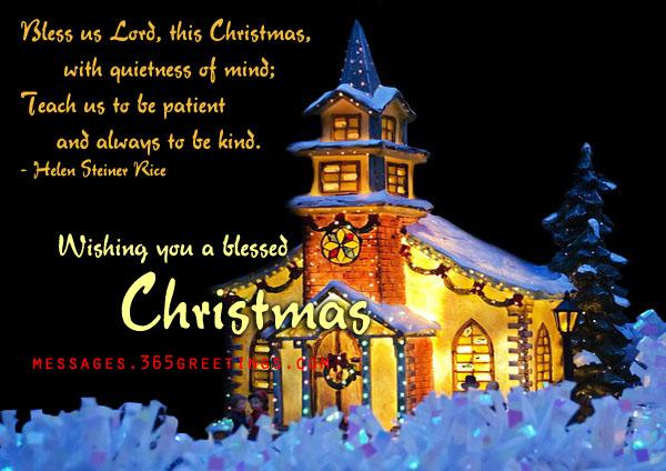 Christian Christmas Wordings