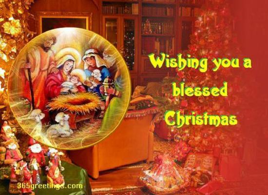 Christian Christmas Wishes