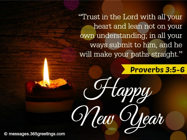 next christian new year messages