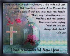 Christian New Year Messages Messages, Greetings and Wishes ...