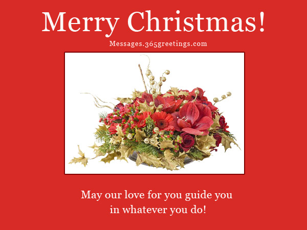 Inspirational christmas messages 365greetings christmas card wordings m4hsunfo