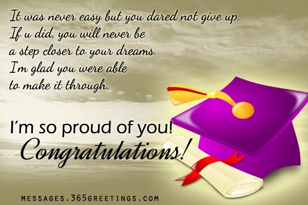 Graduation messages 365greetings congratulation graduates m4hsunfo Images