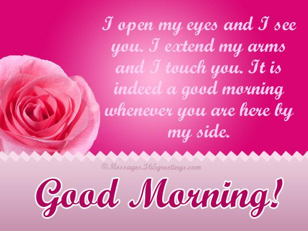 Good morning love messages 365greetings cute good morning love messages m4hsunfo