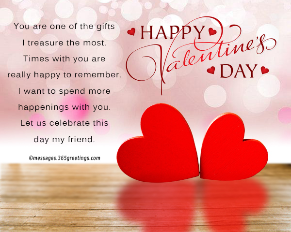 Image of: Cute Valentines Day Quotes And Sayings For Your Friend Messages Wishes And Quotes 365greetingscom Valentines Day Messages For Friends 365greetingscom