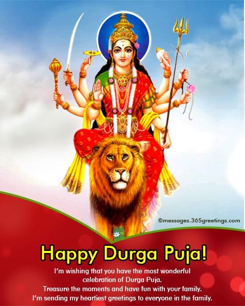 Durga puja greetings 365greetings durga puja greetings m4hsunfo