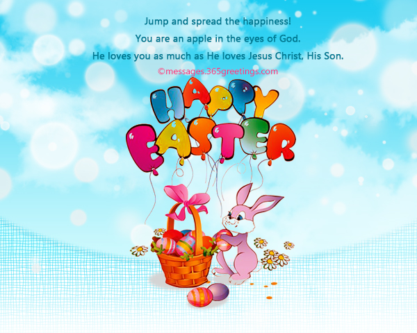 Happy easter wishes and messages 365greetings make this day special by offering god not just these easter eggs but prayers as well talk to him he will listen happy easter m4hsunfo Image collections