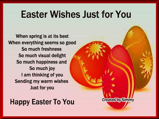 Easter love messages 365greetings easter messages for loved ones m4hsunfo