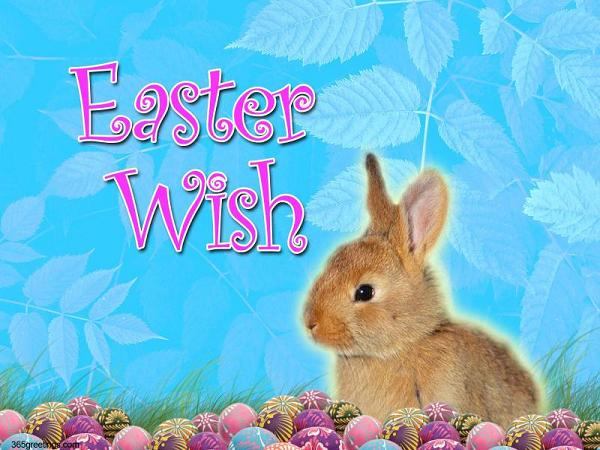 Romantic Easter Wishes