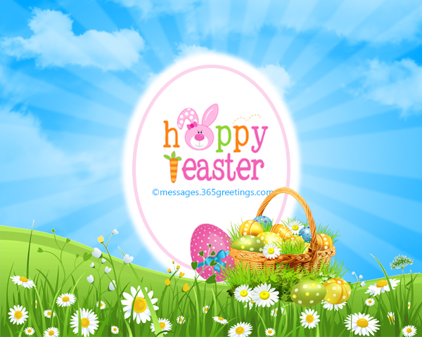 Happy Easter Wishes and Messages 365greetings – Easter Messages for Cards