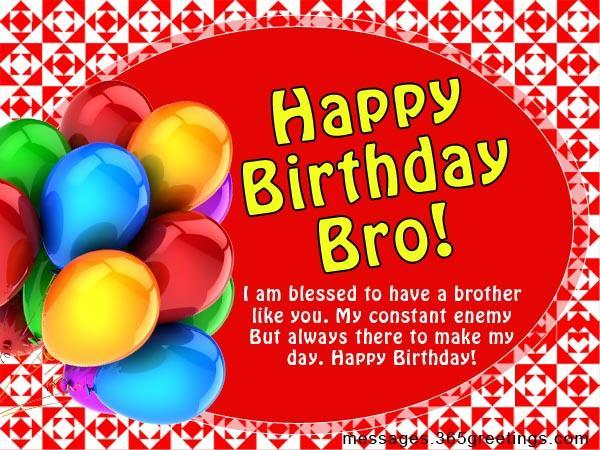 Birthday Wishes For Brother 365greetingscom