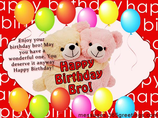 Birthday wishes for brother 365greetings birthday message for brother from sister m4hsunfo