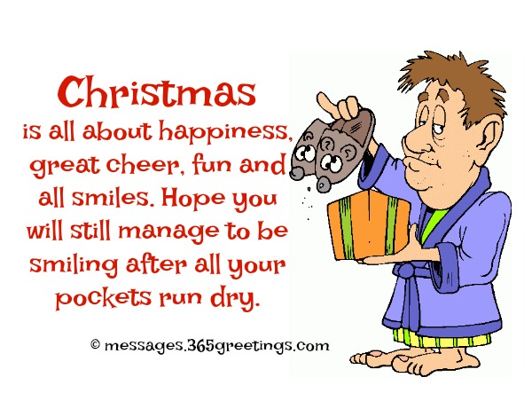 Funny christmas wishes and messages 365greetings i hope you have extra room in your house to fit all the guests during this holiday in any case you can bring some of the guests to my house m4hsunfo